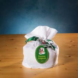 panettone in sacchetto bianco fibra